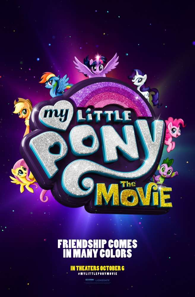 Постер фильма My Little Pony в кино